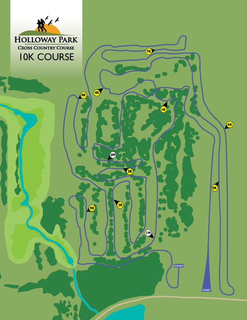 Holloway Park And Nature Preserve K Course